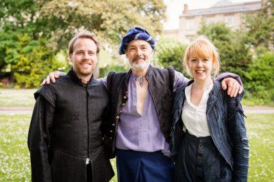 Richard Kay, Thomas Frere, Victoria Brazier - Walk with Shakespeare, York