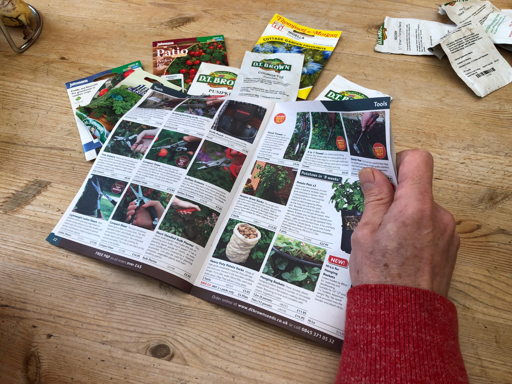 Seed catalogue - 'An Actor Prepares' Blog Thomas Frere