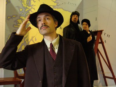 Thomas Frere actor - The 39 Steps - Hannay, original production