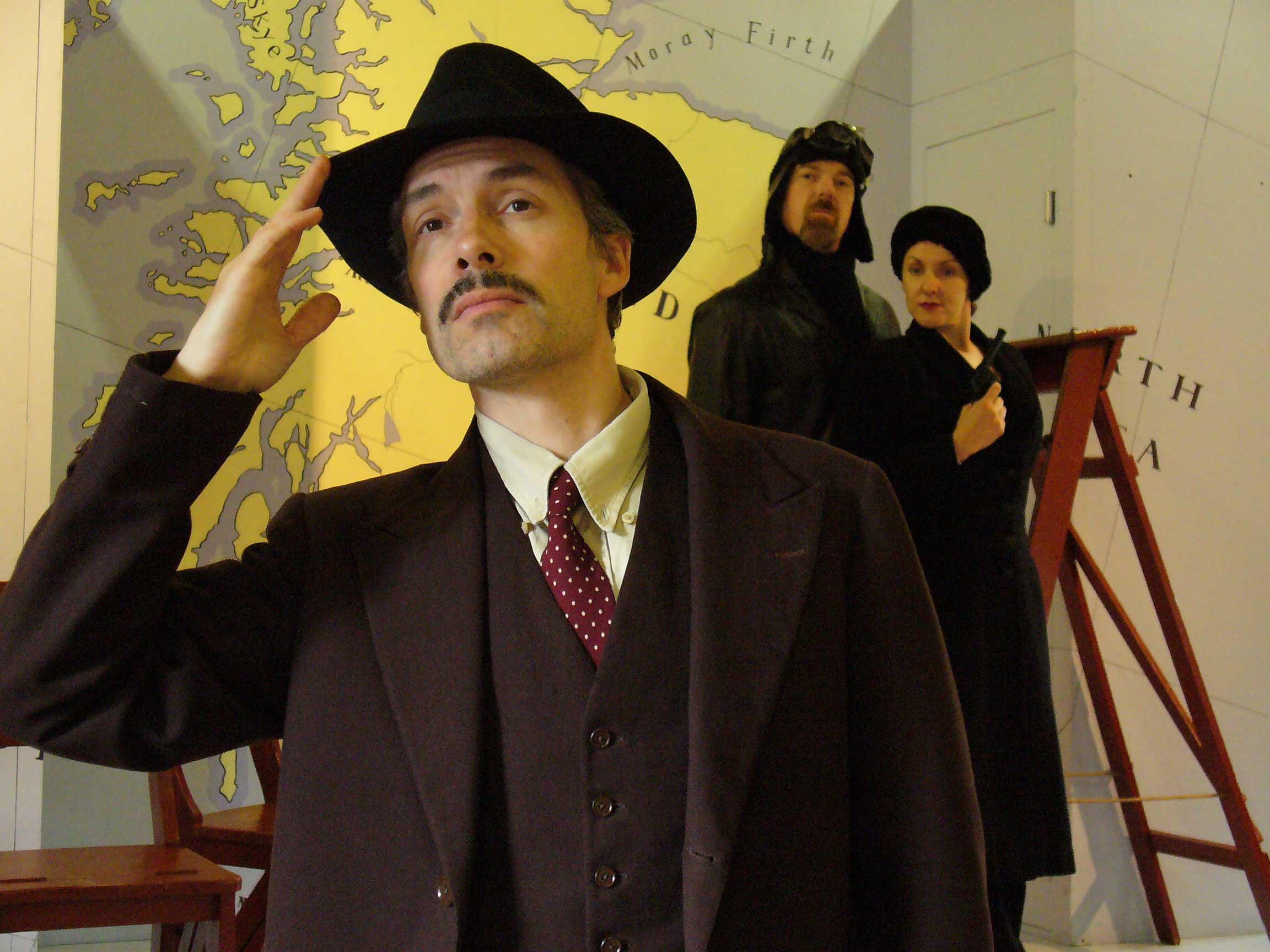 Thomas Frere - Richard Hannay, The 39 Steps, original production