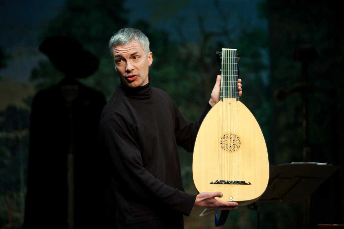 Thomas Frere actor, musician lute
