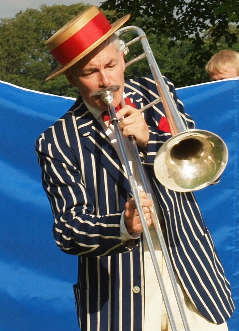 Thomas Frere - actor, musician, trombone, brass