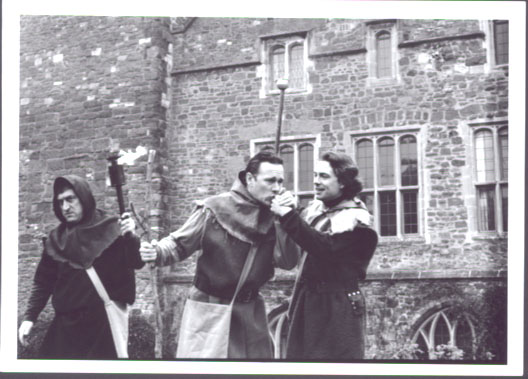 Thomas Frere, Peter, Passion Plays Exeter Thorthcote Theatre