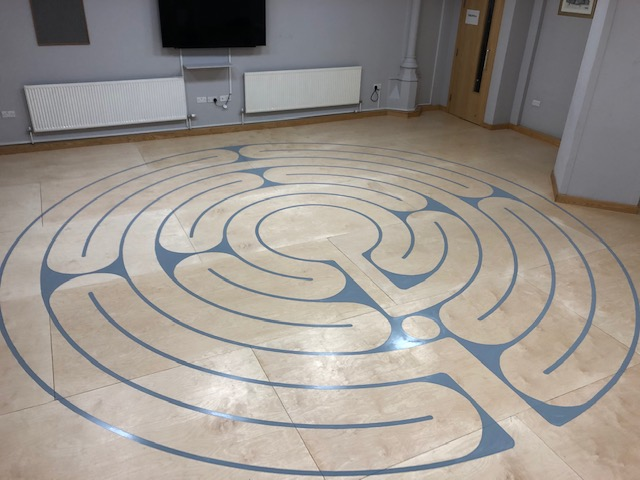 Mill Hill Chapel Labyrinth by Thomas Frere
